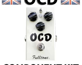 Fulltone OCD - build your own clone boutique guitar effect pedal: component kit