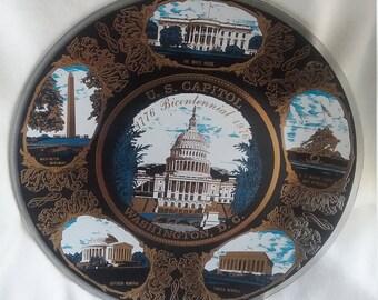 U.S. Capital Washington DC Collector Plate