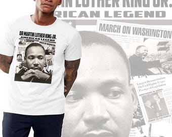 black history month t shirt martin luther king freedom fighter collage revolutionist tee revolutionist   etsy  rh   etsy