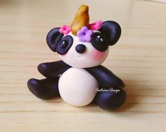 Pandacorn favor, baptism panda favors, baby shower favors, birthday favors, communion favors, unicorn party, birthday panda, party supplies
