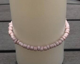 Light pink chunky bracelet