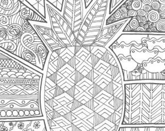 Peaceful Coloring Pages