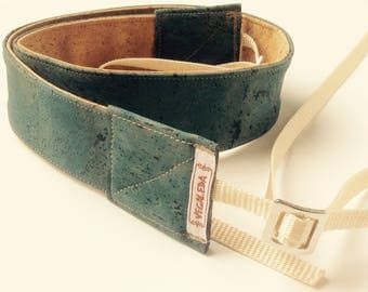 Camera Strap vegan Mississippi Green