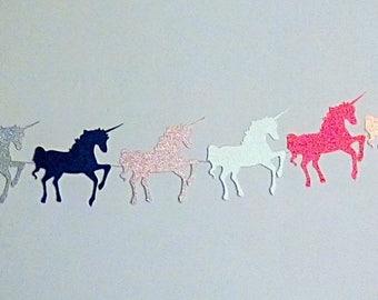 Unicorn Banner | Unicorn Baby Shower | Glittery Unicorns | Horse Banner | Unicorn Party