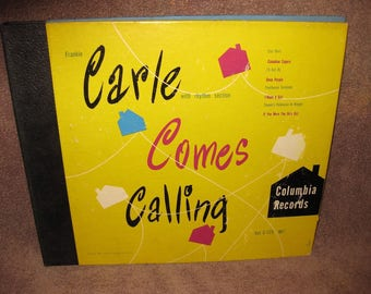 Frankie Carle - Carle Comes Calling - 78 RPM Record Set