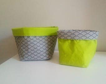 Reserved Blandine large storage baskets