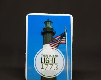 Tybee Island Lighthouse Magnet