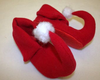 Dwarf shoes/Dwarf costume accesories/Santa's Christmas dwarf costume accesories/christmas dwarf dress up/ handmade costume