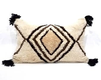 "17""× 28"" XL Moroccan rug pillow cover"