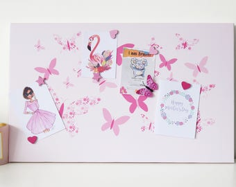 Butterfly Magnetic Notice Board