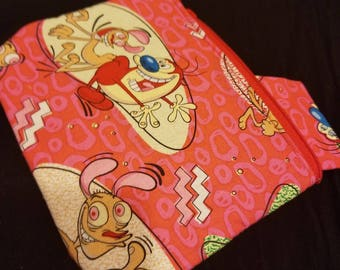 Ren and Stimpy inspired bag