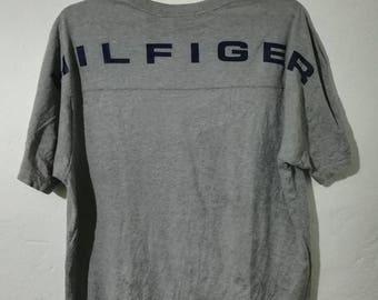 Rare Tommy Hilfiger t-shirt single pocket L size