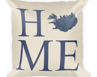 Iceland Pillow, Iceland Gifts, Iceland Decor, Iceland Home, Iceland Throw Pillow, Iceland Art, Iceland Map, Iceland Cushion, Icelandic