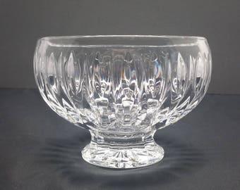 Vintage Waterford Marquis Sharidan Crystal Centerpiece Bowl
