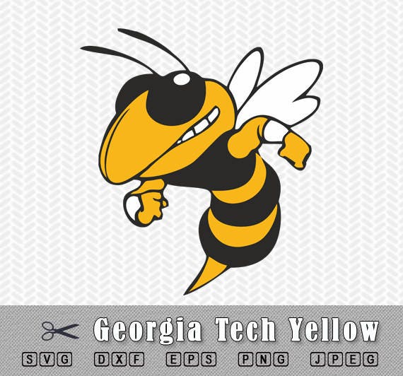 georgia tech yellow jackets svg png logo vector cut file