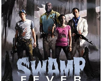 Sale on NOW swamp fever left 4 dead 2 pc  game Poster Print In A3 #retrogaming please read description