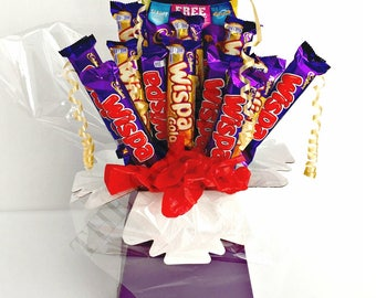 Wispa Explosion Chocolate Bouquet LARGE