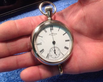 Pocket Watch Waltham 1887 Serviced