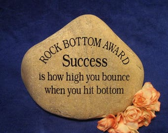 Custom Engraved Award/Thank You Stones/Rocks