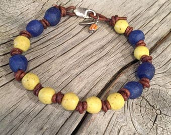 Antique Trade Bead Bracelet