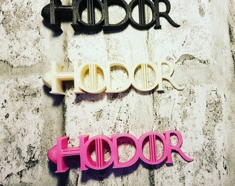"3d Printed ""Hodor"" Door Wedge/Doorstop Featuring 'Hodors'  Face... GOT"