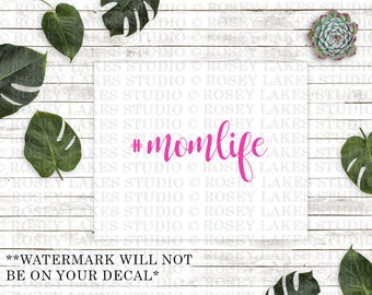 Momlife, #momlife, mom life decal, mom decal, mom decals, decal, car decals, laptop decal, yeti decals, kids, mothers, mom gifts, for mom
