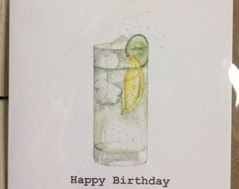 Set of Five Assorted Blank Cards / Bespoke packs of Cards taken from an Original Watercolour