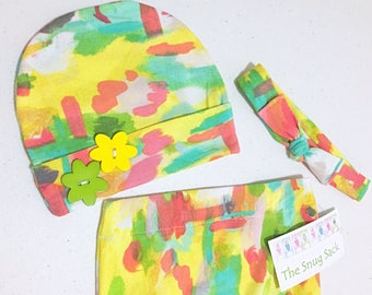 Baby Snug Sack (Burst of Spring)