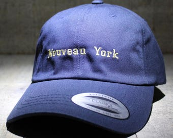 Nouveau York - choose hat color dad hat with embroidery