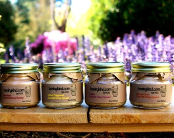 Four pack sampler of our gourmet coconut honey spreads