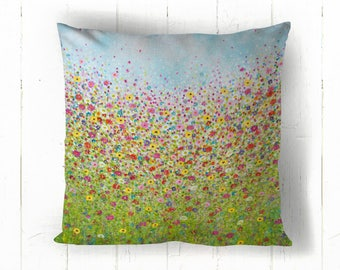 Daisy Dash Cotton Cushion