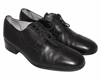 1960's Black Oxfords
