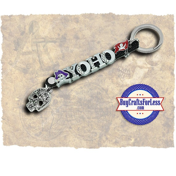 PIRATE YoHo HALLOWEEN Key Ring from BuyCraftsForLess +FREE Shipping & Discounts*