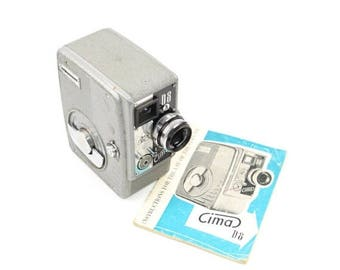 Limited time offer Zimmermann Cima D8A Film Camera with Xenoplan 13mm f/2.5 Lens c.1958