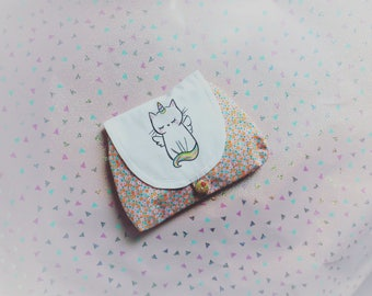 Cat Unicorn make-up case, kawaii