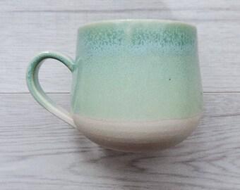Teal Mug | Pottery Mug | Handmade Pottery