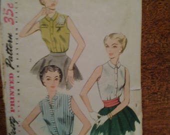 Vintage Simplicity 4238  size 12  Misses and women's  pattern  CUT