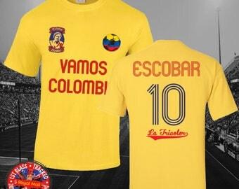 Narcos Pablo Escobar Medellin Soccer t-shirt