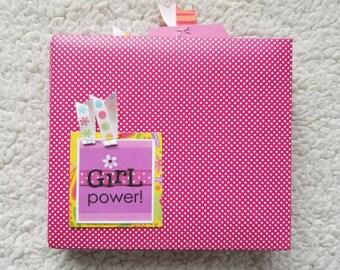 Girl 6x6 Scrapbook Album