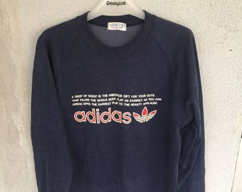 Vintage Adidas Spell Out pit 19.5 inches