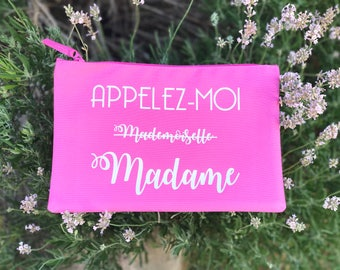 Kit call me Madam - bachelorette party - bachelorette party clutch - bachelorette party Kit - wedding