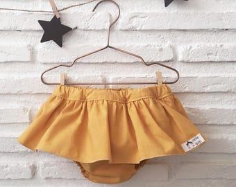 Cubrepañal Bebe, Baby bib shorts, Cubrepañal flyer.