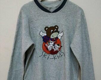 Castelbajacs kids sport Ski-Kids sweatshirt sweater jumper pullover size M