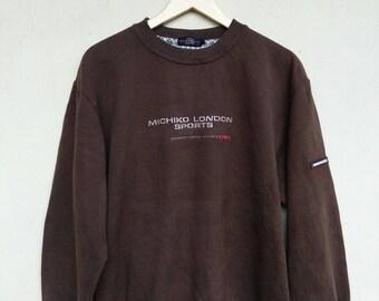 Michiko London Sports sweatshirt sweater jumper pullover