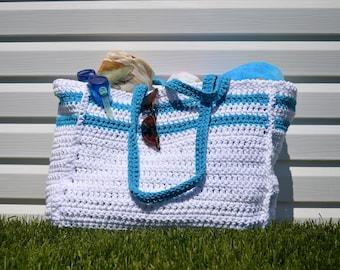 Large beach bag- Tote
