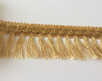 Fringe Golden 4.5 centimeters for your creation