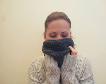 Soft Crocheted Cowl