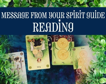 Message From Your Spirit Guide Reading, Spirit Guides, Tarot Reading, Psychic Help, Spiritual Guidance, Fortune Telling, Psychic Reading