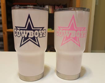 Dallas Cowboys Logo RTIC Tumbler 30 oz