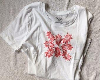 Summer Bloom Tee in White